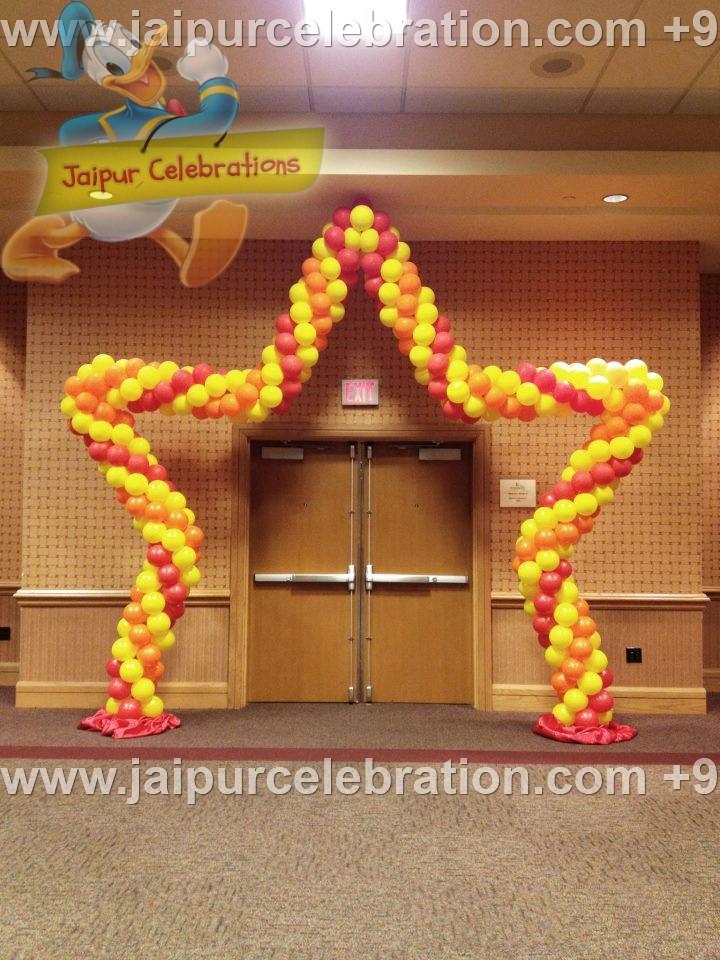balloon decorator in jaipur
